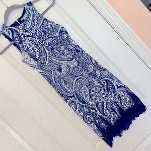 H&M Sleeveless Dress w/ lace trim